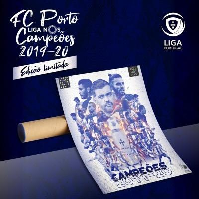 Poster FC Porto Campeão Liga NOS 2019-20