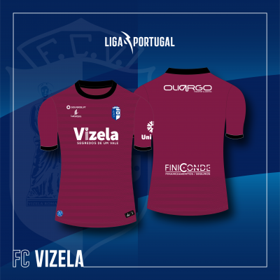 Camisola Equipamento Bordeaux Guarda Redes FC Vizela