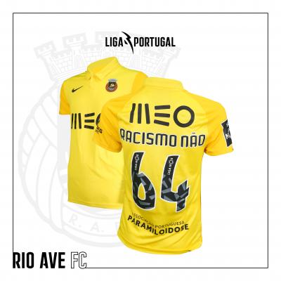 Camisola Rio Ave FC | Jornada Racismo Não