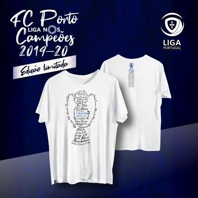 T-Shirt FC Porto Campeão Liga NOS 2019-20