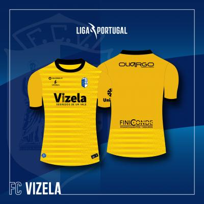 Camisola Equipamento Amarelo Guarda Redes FC Vizela