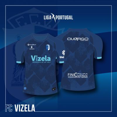 Camisola Equipamento Alternativo II FC Vizela