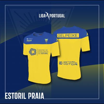 Camisola Equipamento Principal Estoril Praia
