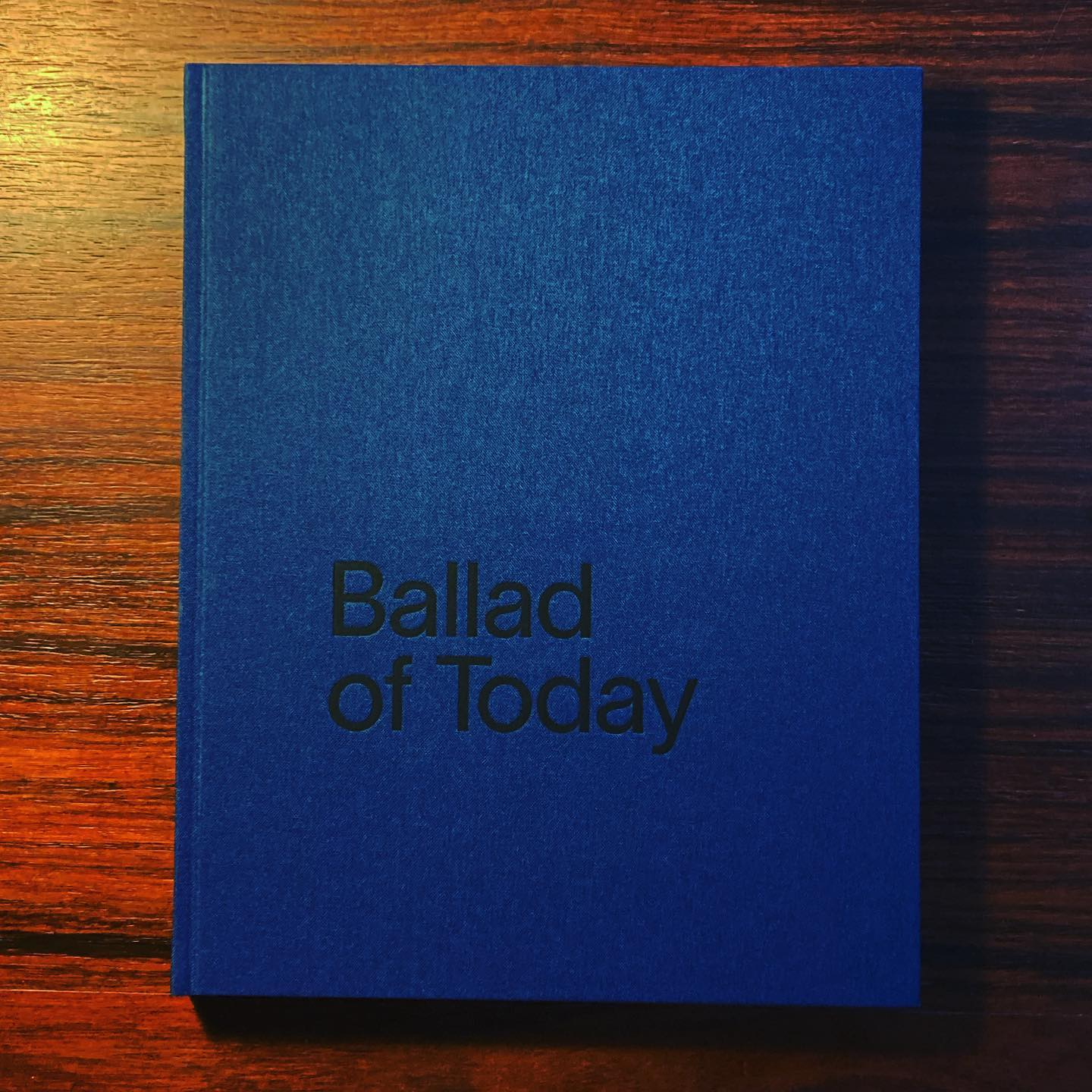 BALLAD OF TODAY • ANDRÉ CEPEDA