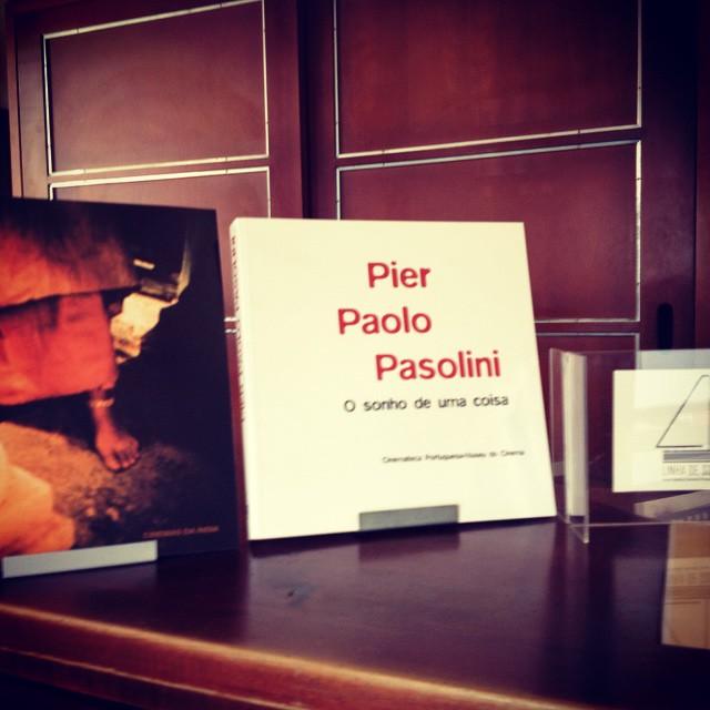 PIER PAOLO PASOLINI • O SONHO DE UMA COISA • ANTÓNIO RODRIGUES (ORG.)