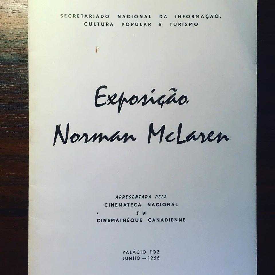 EXPOSIÇÃO NORMAN MCLAREN