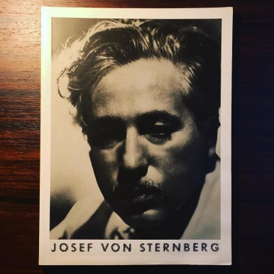 JOSEF VON STERNBERG • JOÃO BÉNARD DA COSTA (ORG.)