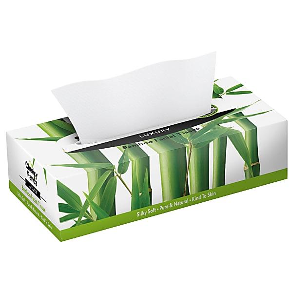 Lenços de Bambu (em caixa)