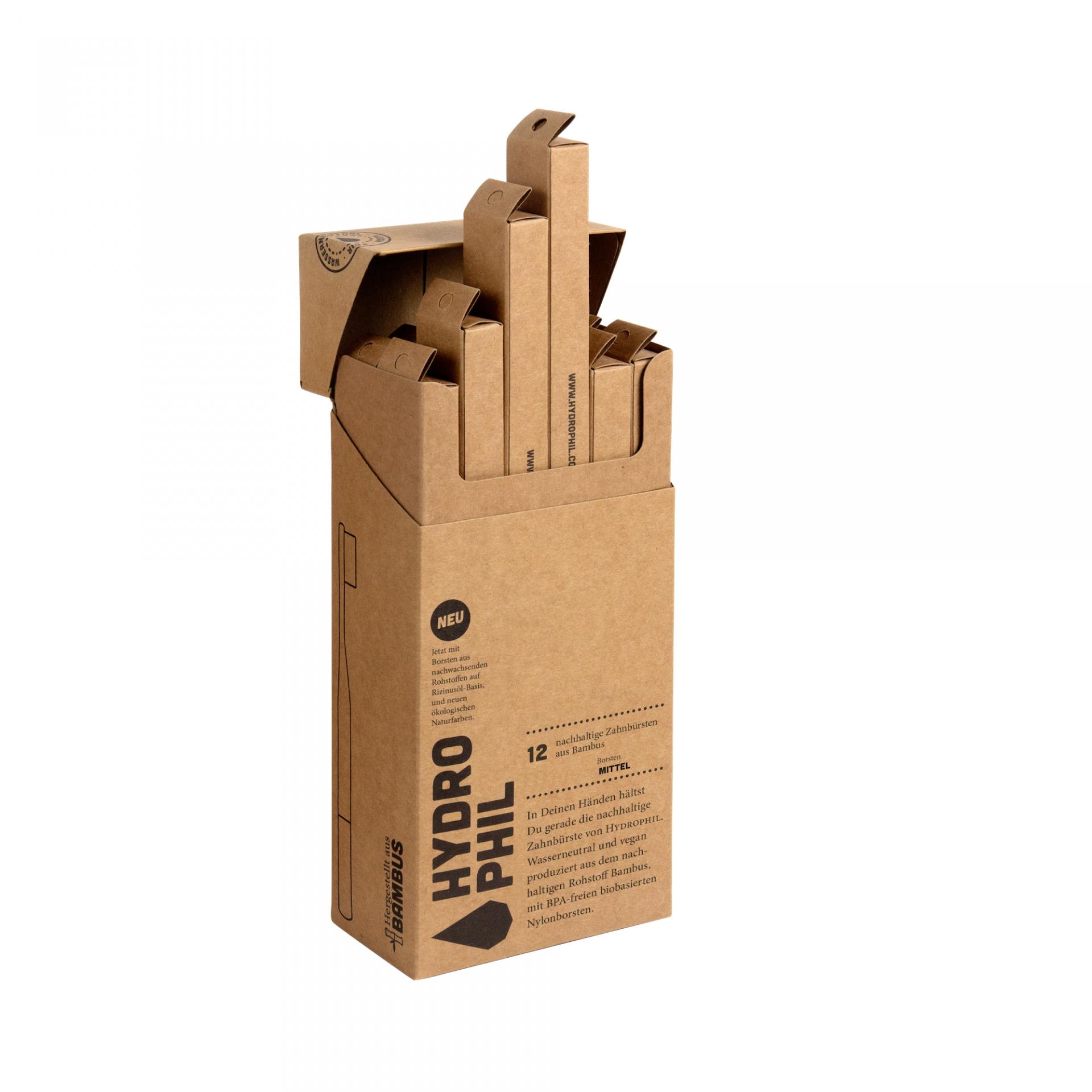 Escova de Dentes Bambu | Média