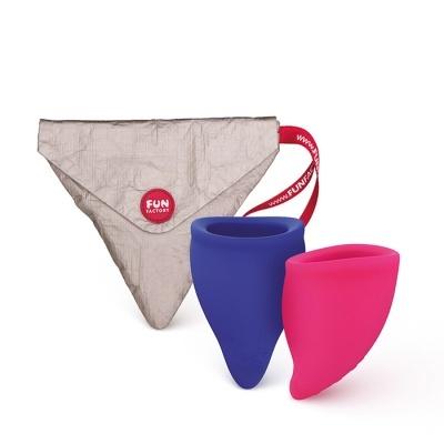 Pack 2 Copos Menstruais A & B | Fun Cup