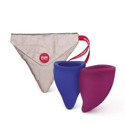 Pack 2 Copos Menstruais B | Fun Cup