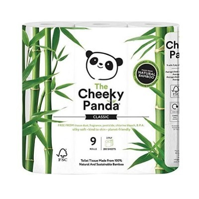 Papel Higiénico Bambu (9 Rolos)