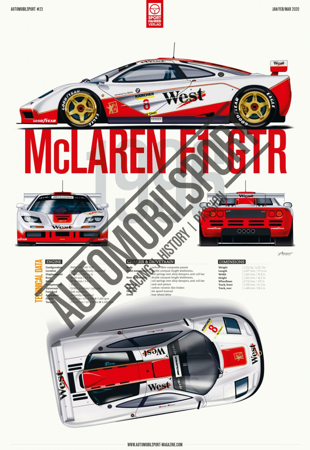 BPR Global GT Series 94-96 (Vol 23 Automobilsport)