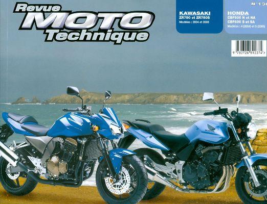 F136 Honda CBF400 2004-05 Kawasaki Z750 2004-05