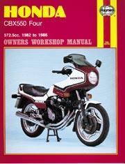 Honda CBX 550 Four 1982-86