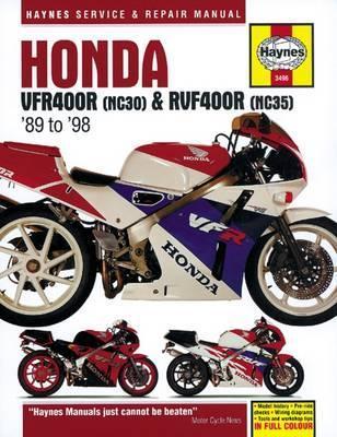 Honda VFR400(NC30), RVF400 (NC35) V-4 1989-98