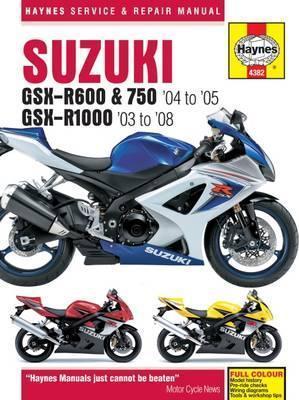 Suzuki GSX-R600/750 04-05 & GSX-R1000 2003-08