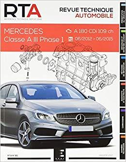 Mercedes Classe A III Phase 1.5 CDi (RTA811)