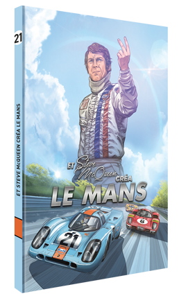Steve McQueen in Le Mans (French Version VOL2) BD