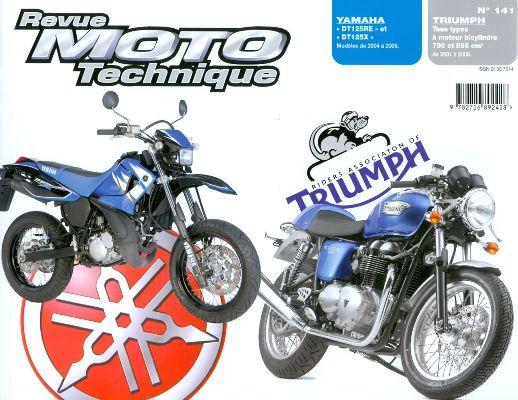 F141 Yamaha DT125 04-06 Triumph ( todos ) 2001-06