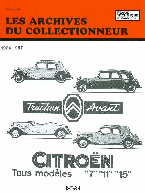 Citroen Traction 7,11,15, Six 1934-57 (AC7)