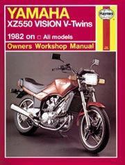 Yamaha XZ550 Vision V-Twins 1982-85
