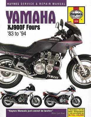 Yamaha XJ900F Fours 1983-94