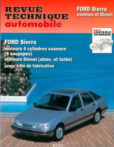 Ford Sierra 4 cil Essence et Diesel TD (RTA716)