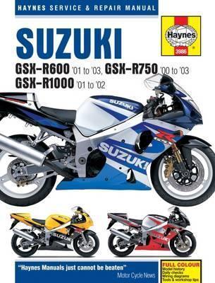 Suzuki GSX-R600, GSX-R750, GSX-R1000 2001-02