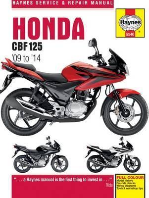 Honda CBF125 2009-14