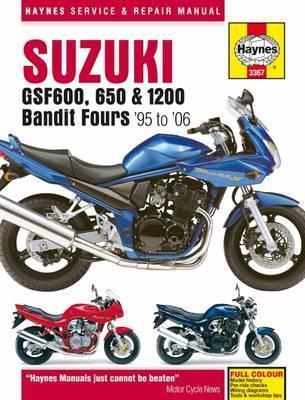 Suzuki GSF600, 650 & 1200 Bandit Fours 1995-2006