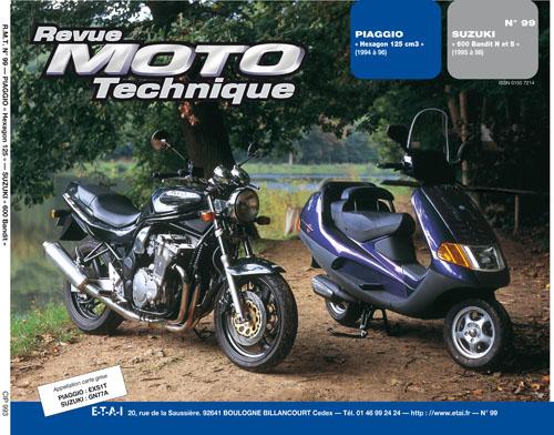F099 Piaggio Hexagon125 Suzuki Bandit 600 95-99