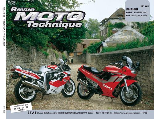 F082 Suzuki GSX 750 89-97 & GSX-R 750 88-91