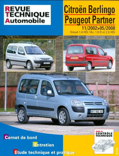 Citroen Berlingo Combi, Peugeot Partner RTA 111