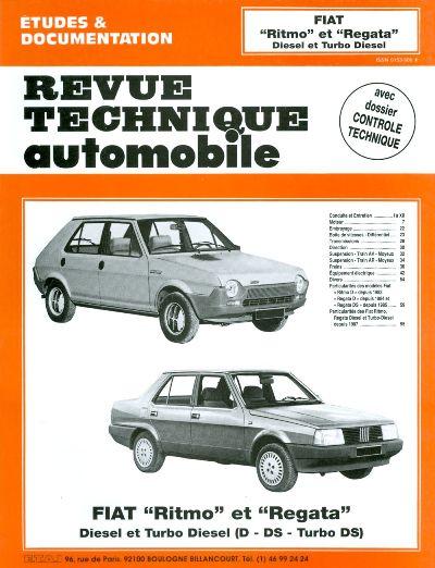 Fiat Ritmo, Regata D, TD 1980-87 (RTA421)
