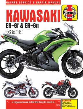 Kawasaki ER-6F & ER-6N 2006-16