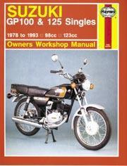 Suzuki GP 100 & 125 Singles 1978-93