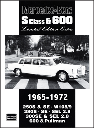 Mercedes Benz S Class & 600 Limited Ed 1965-72
