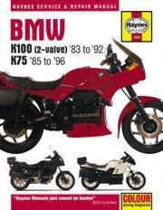 Bmw K100 & K75 2-Valve 1983-96