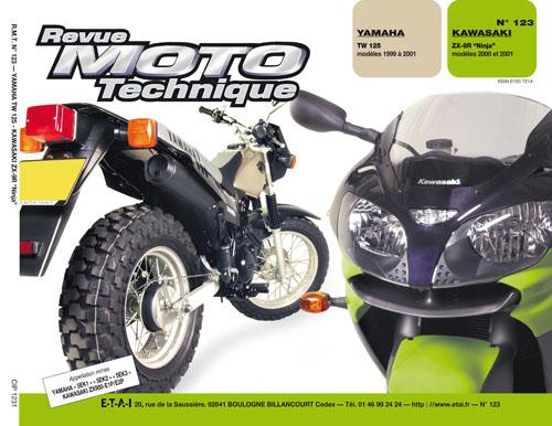 F123 Yamaha TW125 1999-01, Kawasaki ZX9R 2000-01