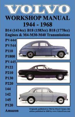 Volvo 1944-1968 Workshop Manual