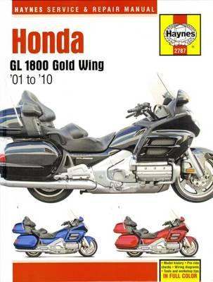 Honda GL1800 Gold Wing 2001-10