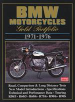 Bmw Motorcycles Gold Portfolio 1971-76
