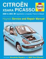 Citroen Xsara Picasso Petrol & Diesel 2000-02