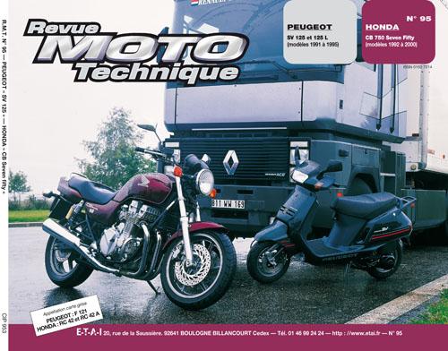F095 Peugeot SV125 1991-95 HondaCB750FII 1992-00