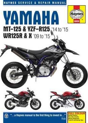 Yamaha MT-125, YZF-R125 14-15 & WR125R/X 09-15