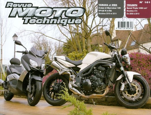 F161 Yamaha YPR 125,MBK,Triumph Speed Triple 05-10