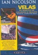Velas de barcos de cruzeiro e regata