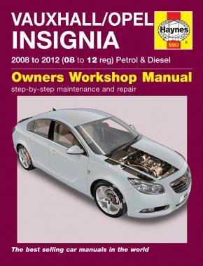 Opel/Vauxhall Insignia Petrol & Diesel 2008-12