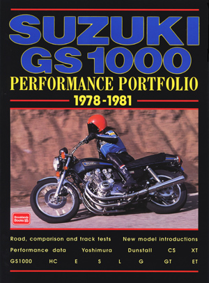 Suzuki GS 1000 Performance Portfolio 1978-81